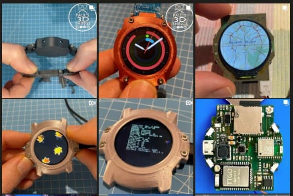 Open-Smartwatch Operating System